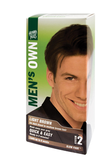 Men's Own Hair Color for the Man