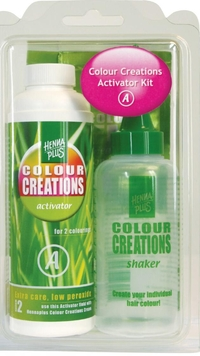 Hennaplus Colour Creations Activator Kit